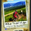 Mountain Biking Trail Map for Golden, BC