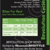 Bike Rental, Shuttle, Coaching & Rides, Rossland.