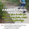 Beaver Valley Family Park - Fruitvale near Trail, BC.