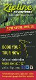 Valley Zip Adventures in Radium Hot Springs.